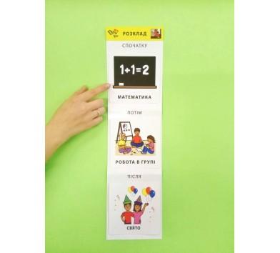 Картки візуальної підтримки процесу навчання