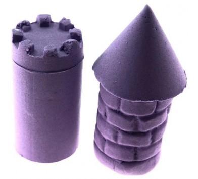 Bubber - cуміш для ліплення, фіолетова, 1,2 кг