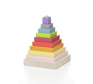 Cubika. Пірамідка різнобарвна