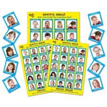 Емоції. Почуття' для індивідуальних занять з дитиною, батьками і педагогом, набір карток і постерів