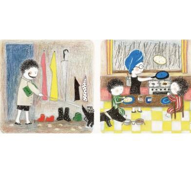 Книга 'Кучеряві думають, що робити в дощ', Прохасько Мар'яна (укр)