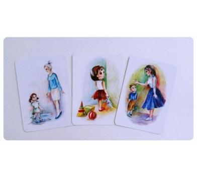 Childhood' ('Дитинство') - проективні картки, Ю.Святенко