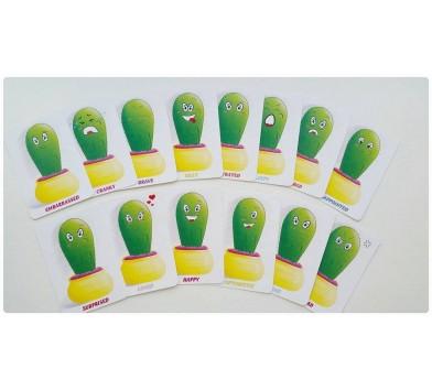 Emotion cards' ('Кактуси') - проективні картки для роботи з емоціями