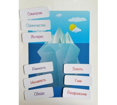 Айсберг' робота з емоціями, проективна методика для дітей (ICEBERG , автор Святенко Юлія)