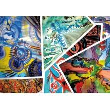 Картки для роботи з психосоматикою. Абстрактні картки. Назаревич В. (двомовні рос. і укр.)