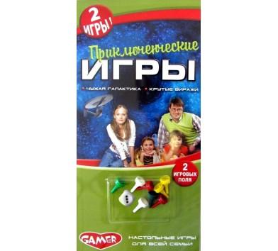 Настільна гра 'Пригодницькі ігри', на русском