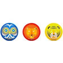 Kid O Головоломка-лабіринт 'Тварини' (асорт.: тигр, лев, сова)