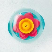Плаваюча квітка для ванни 'LILI' (колір зелений+рожевий+жовтий)
