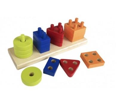 Сubika Геометричний сортер (прямокутник)