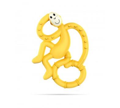 Іграшка-гризун Маленька танцююча Мавпочка (колір жовтий, 10 см)