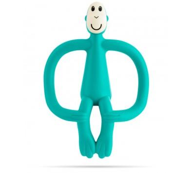 Іграшка-гризун Маленька танцююча Мавпочка (колір зелений, 10 см)