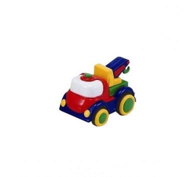 Машинки в асортименті (кран, бетономішалка, гоночний автомобіль)