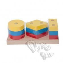 Гра - пирамидка, 'Гео', мини-2