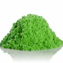 Кінетичний пісок (зелений, 750 г) в контейнері