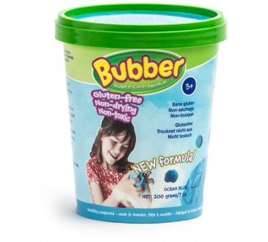 Waba Fun. Суміш для ліплення синя, відерце 0,2 кг