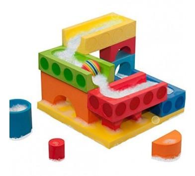 Набір плаваючих блоків для ванни 'Рухливий М'яч & Водоспад' 3+
