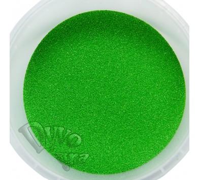Пісок кольоровий для творчості, в контейнері 350 г, зелений