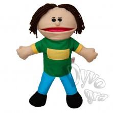 Лялька-рукавичка Puppets, хлопчик у зеленій футболці, 1 шт.
