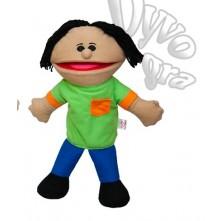 Лялька-рукавичка Puppets, хлопчик у салатовому , 1 шт.