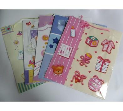 Пакет подарунковий 'Дитячий' рожевий