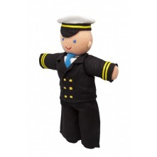 В'язана іграшка 'Капітан'