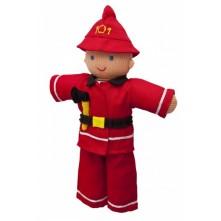 В'язана іграшка 'Пожежник'