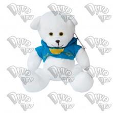 Ведмедик патріотичний (серце-прапор України)