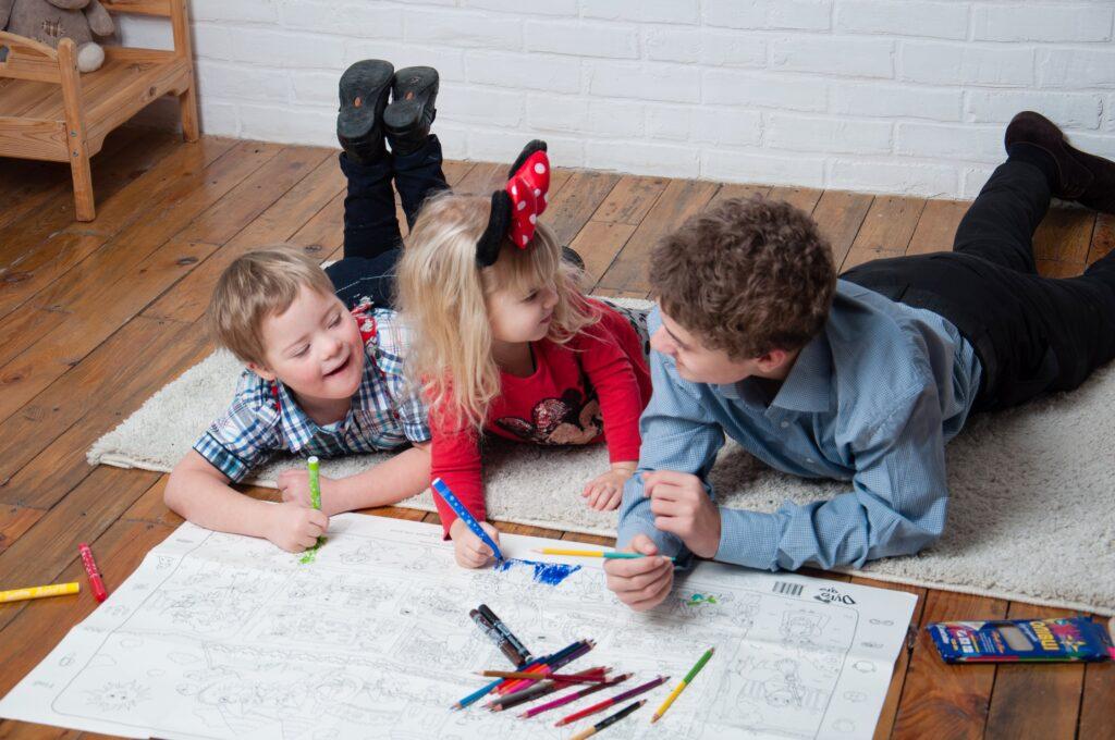 настінні розмальовки для дітей