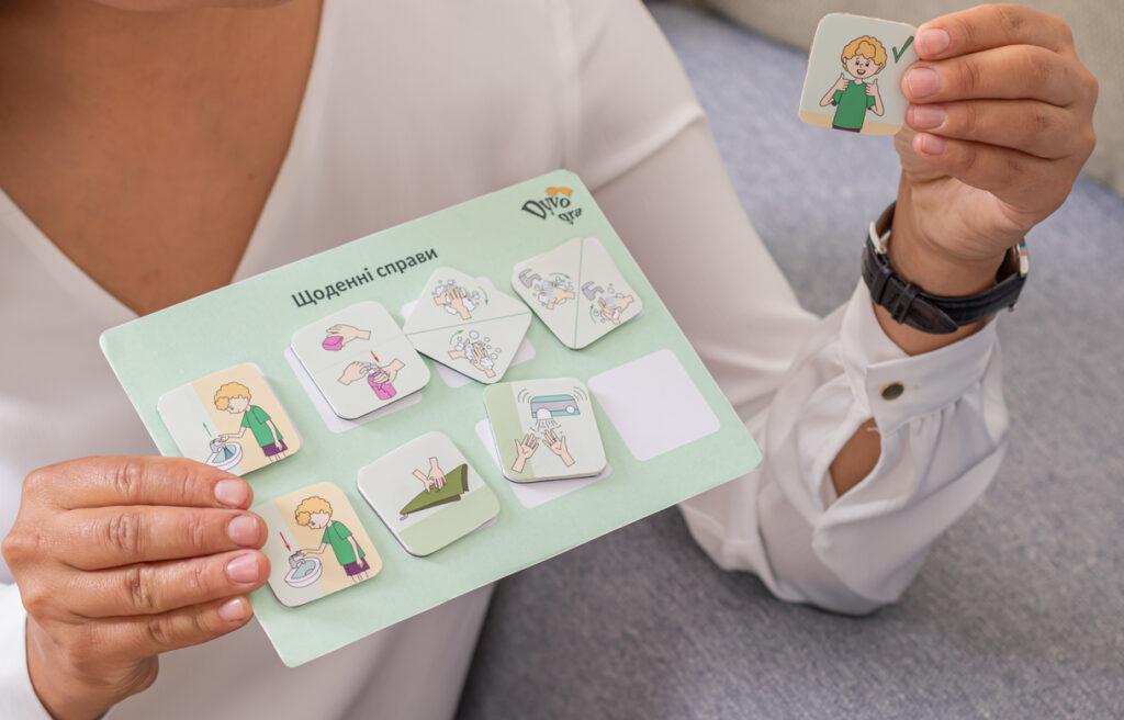 фото развивающие влагостойкие карточки для детей